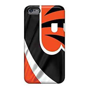 Bumper Cell-phone Hard Covers For Apple Iphone 6s With Provide Private Custom High-definition Cincinnati Bengals Image 88bestcase