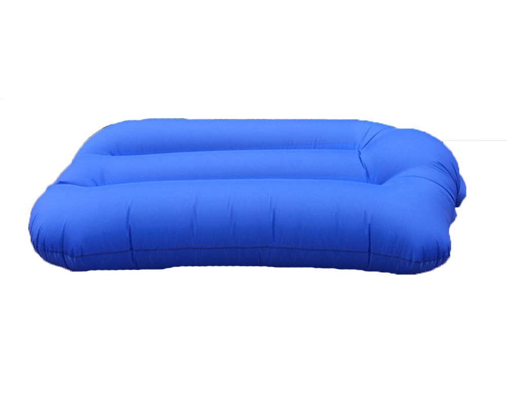 Bleu  GUIGUI Canapé Gonflable, portable éTanche Chaise Longue, ExtéRieur IntéRieur Canapé-Lit Air Convenable Loisirs Camping, Plage, PêChe, Piscine