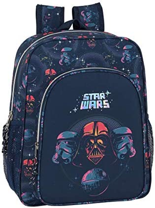 safta 612001640 Mochila Junior niño Adaptable Carro Star Wars, Multicolor: Amazon.es: Equipaje