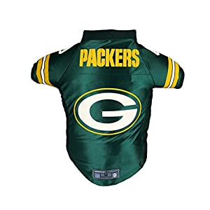 Littlearth NFL Green Bay Packers Premium Pet Jersey, Medium
