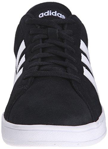 Adidas Prestaties Heren Basislijn Fashion Sneaker Zwart / Wit / Wit