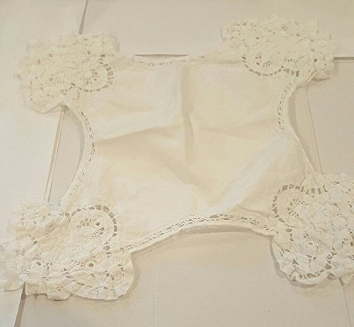 Battenburg Doily - Battenburg Lace Doily 13 in x 14 in
