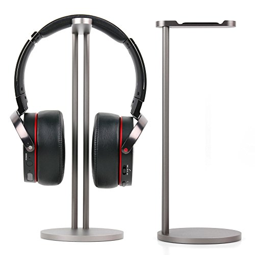 DURAGADGET Collapsible Metal Headphone Holder for the Medion Erazer P83962 by DURAGADGET
