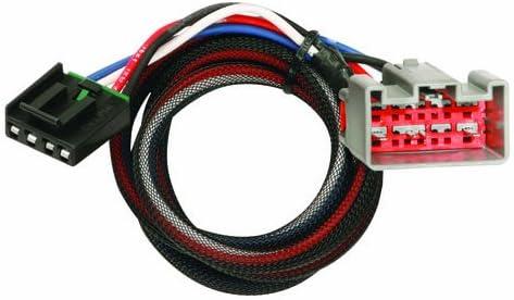 Tekonsha 3034 2-Plug Brake Control Wiring Adapter for Ford