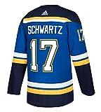 adidas Jaden Schwartz St. Louis Blues Authentic Home NHL Hockey Jersey (M/50)