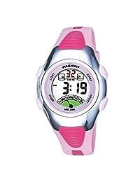 Kids LED Digital Watch Girls Outdoor Sports Alarm Wristwatch Children Dress Watches Pink