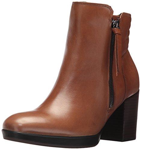 ECCO Women's Women's Shape 55 Chalet Mid Ankle Bootie, Camel, 40 EU/9-9.5 US - Chalet Heels