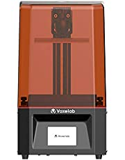 VOXELAB Polaris 3D Printer, UV Photocuring LCD Resin Printer with 3.5'' Smart Touch Color Screen Off-line Print 4.53in(L) x 2.56in(W) x 6.10in(H) Printing Size (Black)