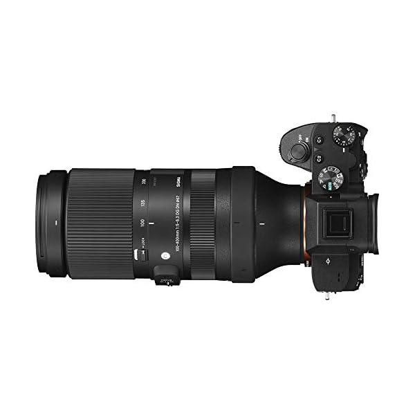 RetinaPix Sigma 100-400mm f/5-6.3 DG DN OS Contemporary Lens for Sony E
