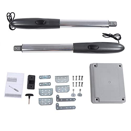 - 24V Auto Electric Powered Swing Gate Opener Kit with 2 Remote Control (Control Box)
