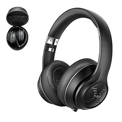 Tribit XFree Tune Bluetooth Headphones Over Ear - Wireless Headphones 40 Hrs...