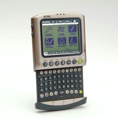 ROYAL EZVUE7 3 MB PDA with 6-Line Touch Screen