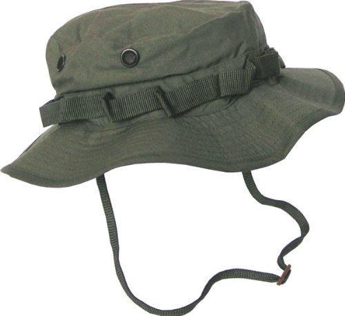 Boonie Hat Chapeau Brousse Jungle US Army Commando Trooper - Coloris Kaki - Taille XLarge - Airsoft - Paintball - Chasse - Pêche - Randonnée - Outdoor