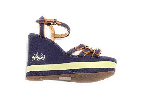 Pepe Jeans Of London - Zapatos de Vestir Para Mujer Azul Cobalto