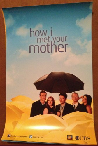 """HOW I MET YOUR MOTHER - 11""""X17"""" Original Promo TV Poster SDCC 2013 Comic Con"""