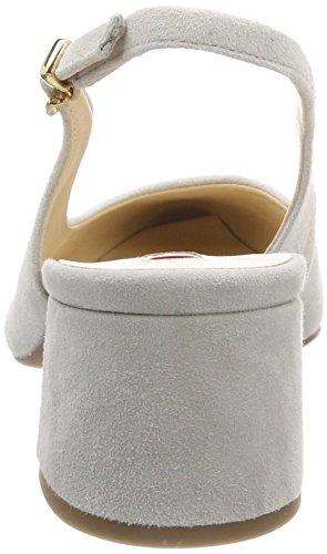 Lightgrey de para Mujer Zapatos Abierto 6700 Gris 5 4602 Talón 10 Högl CqZw6XPx