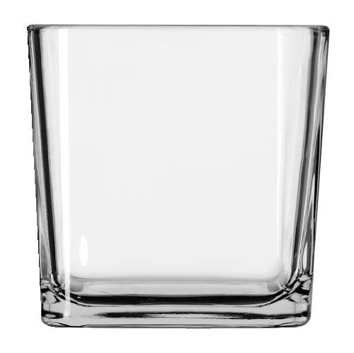 Libbey Large Cube Votive Candle Holder, 22 Ounce - 12 per case.