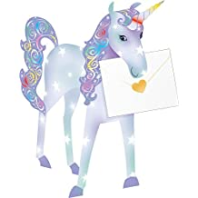 Celebrate the Home Special Delivery Delightful 3-D Animal Card, Unicorn