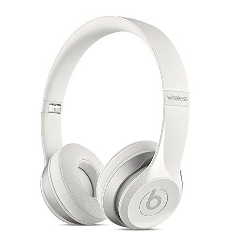Beats Solo2 Wireless On-Ear Headphone - White (Old Model) (Refurbished)