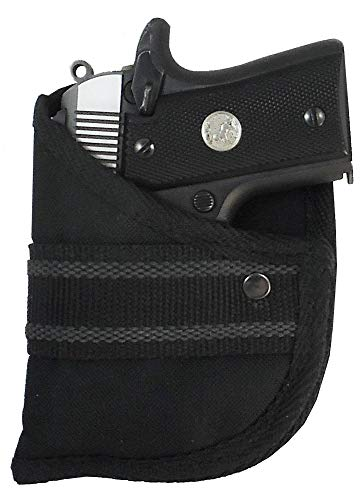 Garrison Grip Custom Fit Woven Pocket Holster Fits Colt Mustang Plite 380 Auto (W2)
