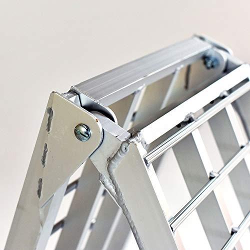 EmpireCovers Aluminum Folding ATV/UTV Ramp - 7.5' Long, 2,000 lb Weight Capacity (Sold as Pair) by EmpireCovers (Image #4)
