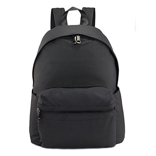 for Black Backpack Bag School Waterproof Book Nylon Girls Purse amp;Men ZORFIN Women Fashion for Bags Rucksack RqZRvfnF