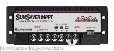 Morningstar Sunsaver TrakStar 15 Amp MPPT Charge Controller 12V/24V by Morning Star