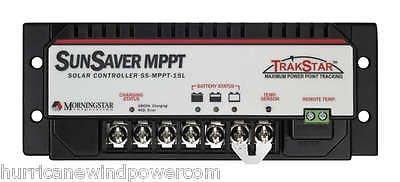 Morningstar Sunsaver TrakStar 15 Amp MPPT Charge Controller 12V/24V