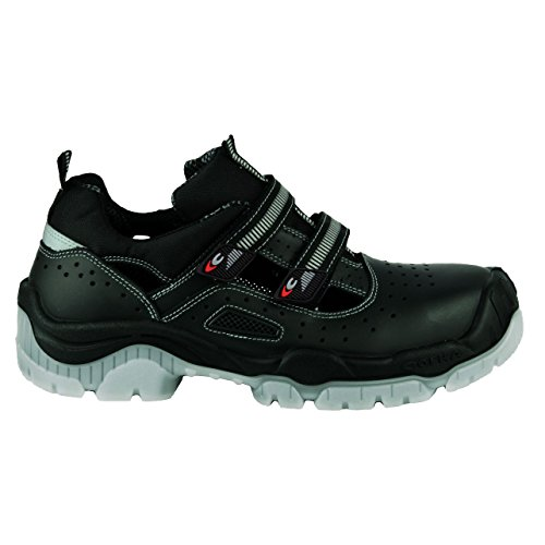 Cofra 31160–000.w45Wolfsburg S1P Sr–Zapatos de seguridad c talla 45NEGRO