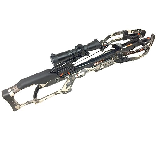 Bow Predator (Ravin Crossbows R010 Predator Package R10 Crossbow with HeliCoil, 400 Grain, Camo)