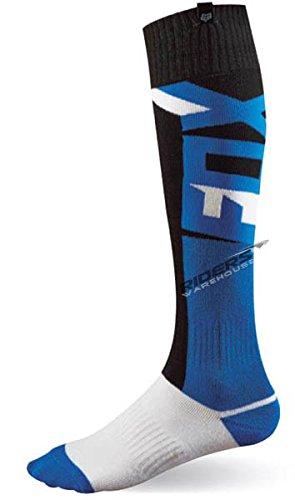 Fox Racing FRI Vandal Thin Socks - Small/Blue (Moto Socks)