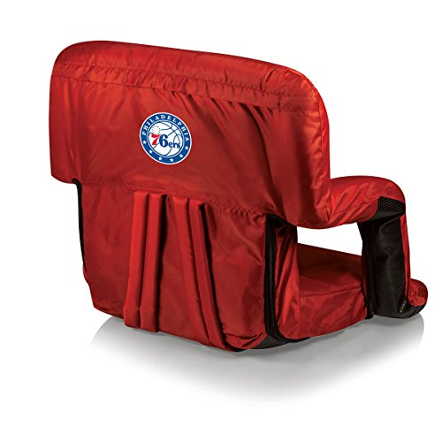 PICNIC TIME NBA Philadelphia 76ers Ventura Portable Reclining Seat by PICNIC TIME