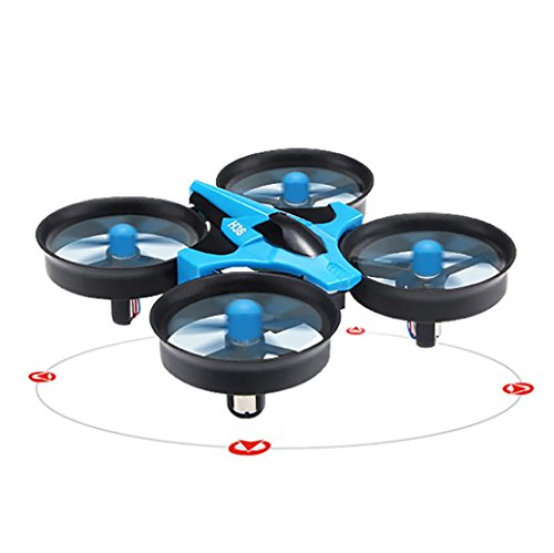OVERMAL JJRC H36 6-axis Gyro Headless Mode Mini RC Quadcopter With 16 Blades Of Wind