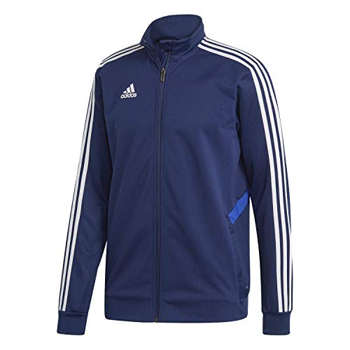 adidas Men's Tiro 19 Training Jackets (L, Dark Blue/Bold Blue/White)