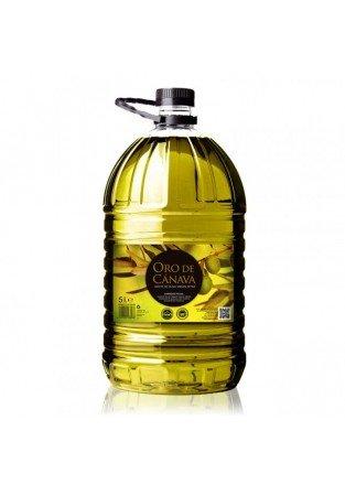 Oro de Cánava. Aceite de oliva picual, Caja de 3 garrafas de 5 L: Amazon.es: Alimentación y bebidas