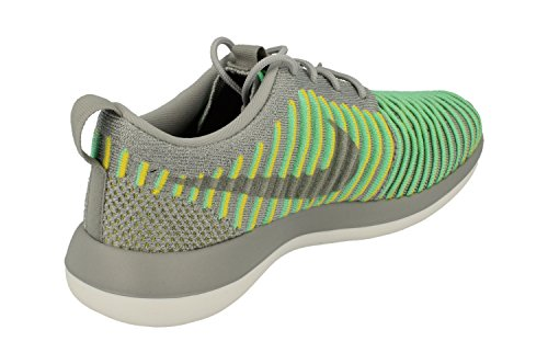 footlocker pictures online NIKE Women's Roshe Two Flyknit 365 Ankle-High Fashion Sneaker Wolf Grey Green Glow 004 free shipping great deals really cheap outlet cheap online buy cheap low price BHKkfsiXPe