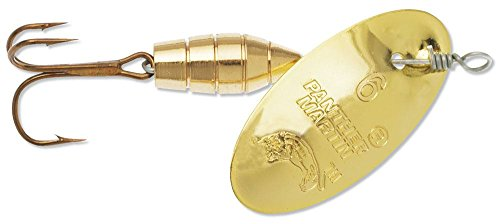 Panther Martin Deluxe Gold 1/4-Ounce Spinning Lure, 1/4 oz