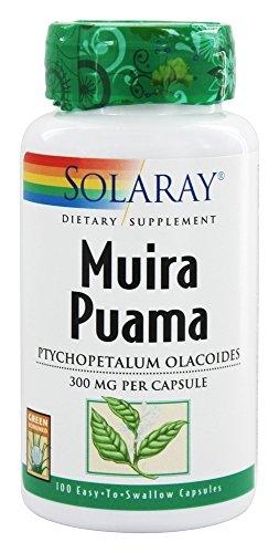 Solaray - Muira Puama, 300 mg, 100