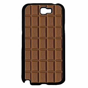 Delicious Chocolate Bar TPU RUBBER SILICONE Phone Case Back Cover Samsung Galaxy Note II 2 N7100