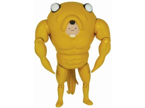 Adventure Time 5 Inch Action Figure Finn in Jake Suit by Jazwares Toys
