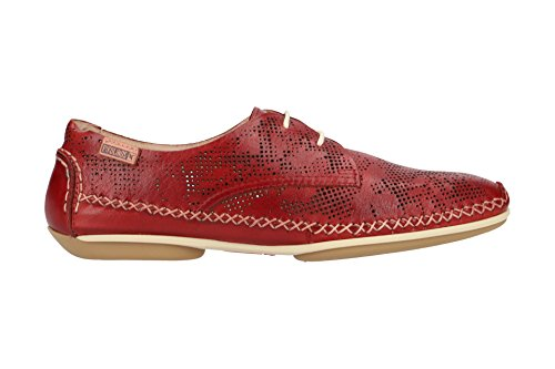 4683 Lacets Chaussures Femme À W1r Classique Et Pikolinos Coupe Rouge Sandia Cw5c6