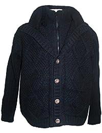 """<span class=""""a-offscreen"""">[Sponsored]</span>DD Unisex Lamb Wool Fleece Crochet Sherpa Cardigan Sweater ~ Nepal"""