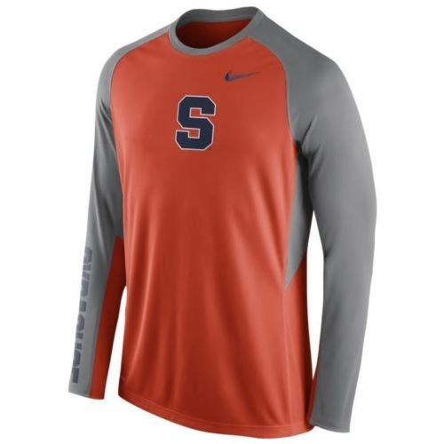 Nike Syracuse Orange Dri-Fit Elite Long Sleeve On-Court Shooting Shirt (Medium) Court Shooting Long Sleeve
