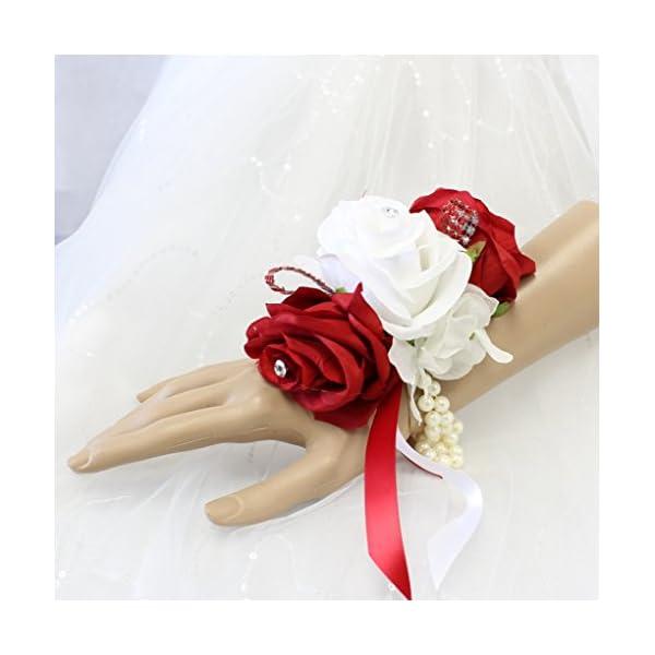 Angel-Isabella-Wrist-Corsage-Keepsake-Artificial-Roses-Hydrangea-Large-Wrist-Flower-Flower-Prom-Dance-Graduation-Events