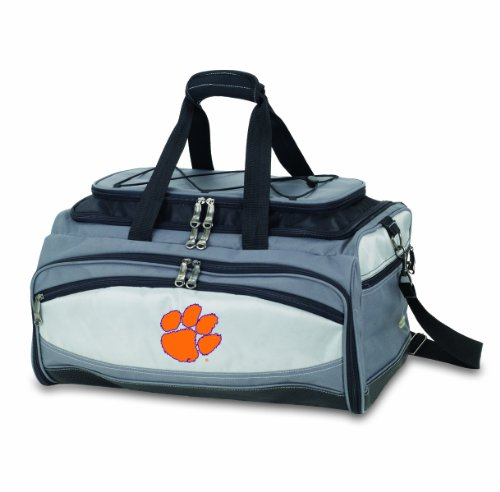 NCAA Clemson Tigers Buccaneer Tailgating Cooler with Grill by PICNIC TIME