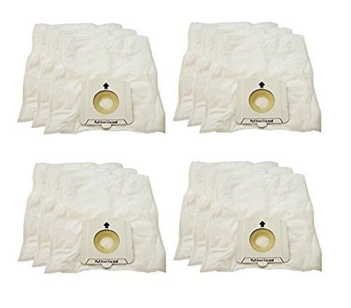 (12) Bissell Opticlean 2138059 Canister Vacuum Bags 213-8059