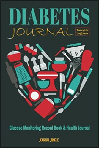 diabetes journal glucose monitoring record book health journal