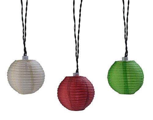 Moonrays 91132 Powered Oriental Lantern