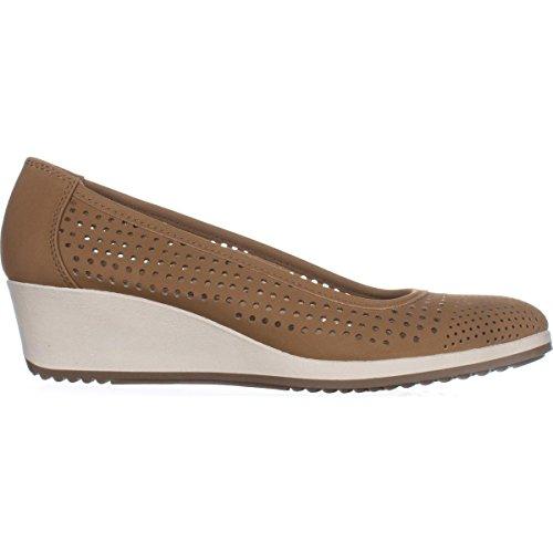 Closed Becky Womens Mocha Toe Smooth Casual Sandals Platform Naturalizer EBgTqcypc