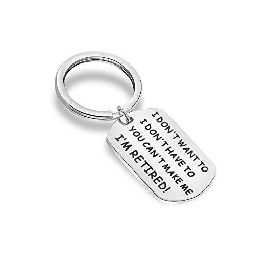 MAOFAED Retirement Gift Retirement Keychain I'am Retired Going Away Gift for Co-Worker Colleague Gift Saying Goodbye Gift (KR- I'm Retired) (Monthly Retirement Planning Worksheet Chapter 8 Answers)